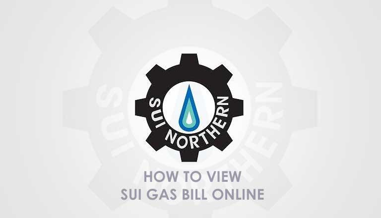 Photo of SUI northern gas bill online 2017