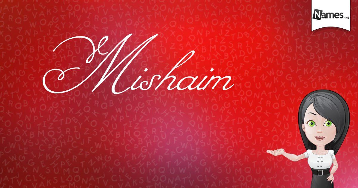Photo of mishaim / meshaim name meaning in urdu مشائم
