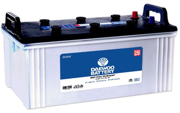 DIB-200-Daewoo battery price list 2019