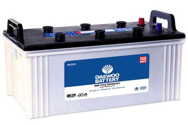 DIB-225-Daewoo battery price list 2019