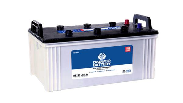 DIB-260-Daewoo battery price list 2019