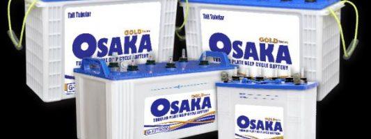 Osaka tubular battery 200ah price 2019 Pakistan